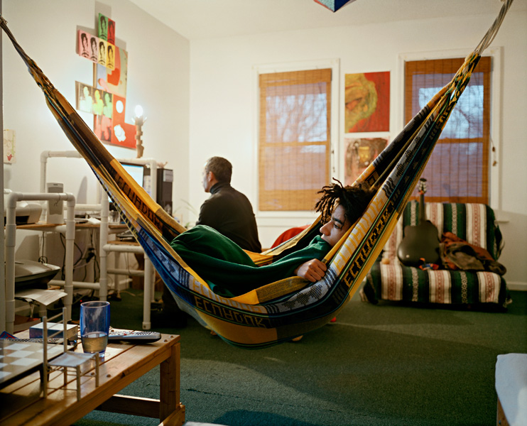Clayton cotterell no oitzarisme for Living room hammock
