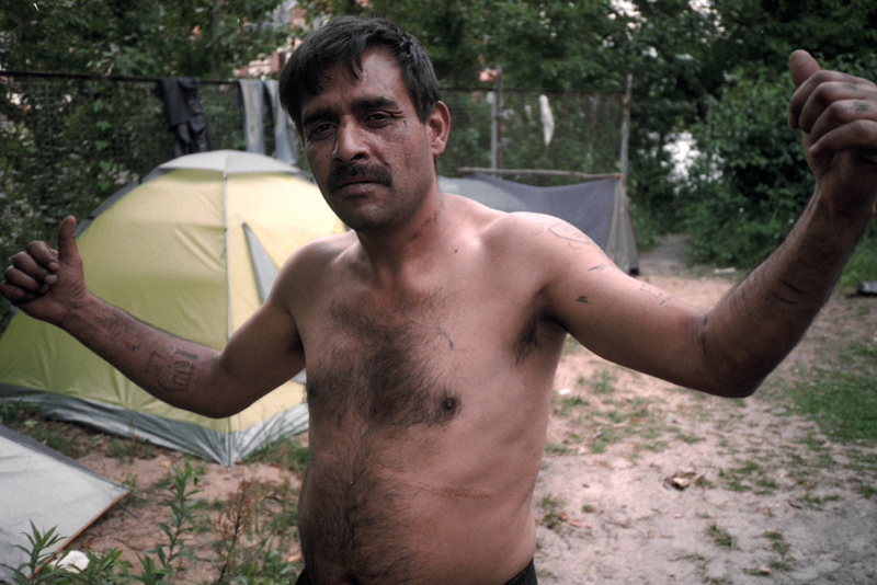 Bulgarian roma squatter berlin1