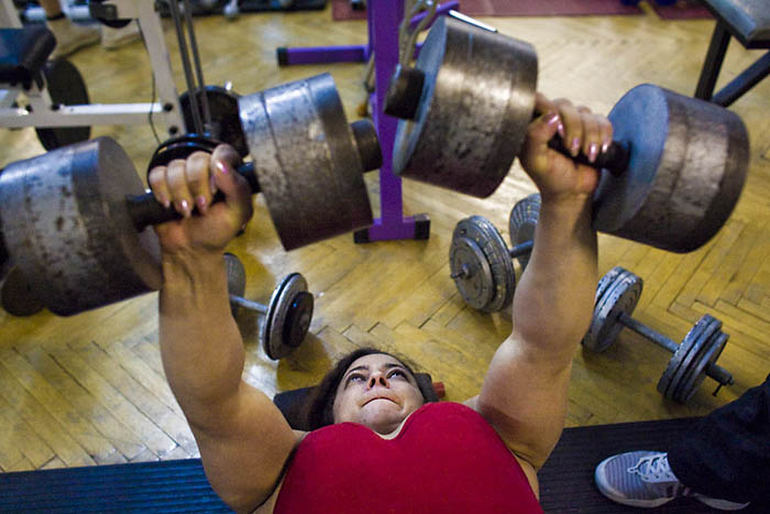 Worlds Strongest Woman Bench Press | www.imgarcade.com - Online Image