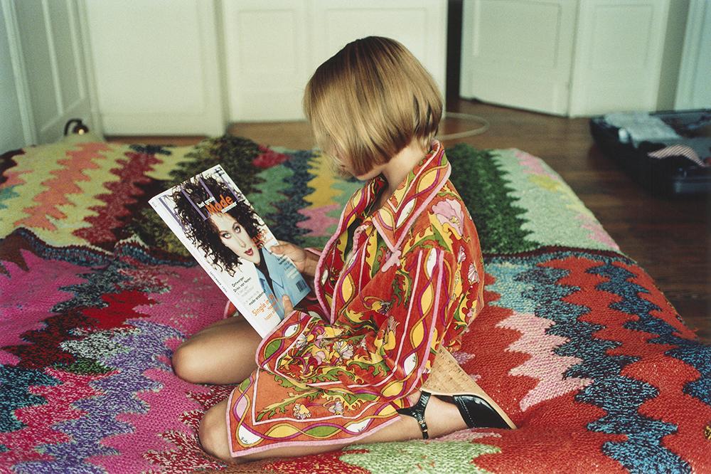 Elle et Son Pucci © Memymom, 1996