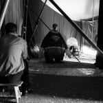 Alexandru Jugaru - Circus, Behind the curtain