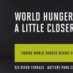 ending world hunger begins here
